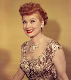 American actress and producer Lucille Ball - best known for her starring role in the hit sitcom 'I Love Lucy'. (Photo by Weegee(Arthur Fellig)/International Center of Photography/Getty Images) Prom Updo, I Love Lucy, Lucy Lucy, Hollywood Stars, Classic Hollywood, Vintage Hollywood, Hollywood Actresses, Actors & Actresses, Hollywood Celebrities