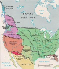 American migration into the Oregon Territory really began after the War of when we were granted equal access. At the time, we shared this territory with the British, Spanish and Russia Texas History, History Facts, World History, Family History, Native American Ancestry, Native American History, Social Studies Activities, History Activities, Oregon Territory
