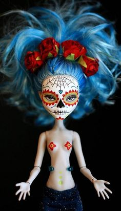 Monster High Calavera by Kittytoes, via Flickr