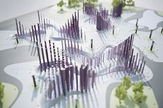 Landscape Architecture Model Making Concept Models Architecture, Landscape Architecture Model, Landscape Model, Landscape Concept, Urban Landscape, Landscape Design, Landscape Diagram, Installation Architecture, Landscape Sketch