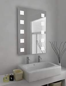 Circo 207 Super Bright Led Bathroom Mirror With Sensor And Demister Pad Size H