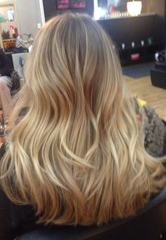 balayage highlight