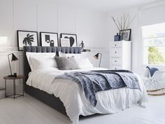House Beautiful DFS Benedict bed