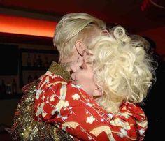 Lady Gaga y Justin Bieber en el evento de YSL en Los Ángeles • 11/02/2016