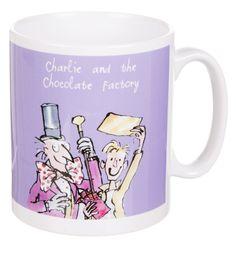 Boxed Roald Dahl Charlie And The Chocolate Factory Mug