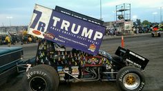 Presidential Candidate Donald Trump Sprint Car at Knoxville Nationals https://racingnews.co/2015/08/15/presidential-candidate-donald-trump-sprint-car/ #knoxvillenationals