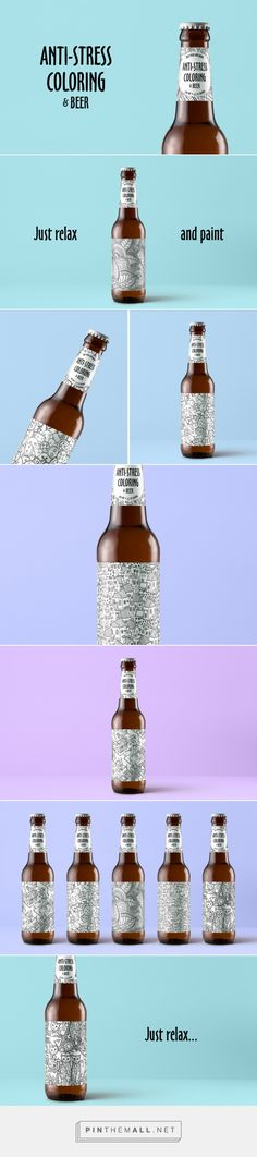Anti-stress Coloring & Beer - Packaging of the World - Creative Package Design Gallery - http://www.packagingoftheworld.com/2017/11/anti-stress-coloring-beer.html