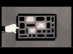Saul Bass: Famous title sequences from Preminger to Scorsese - YouTube