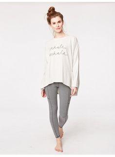 Breathe Organic Cotton Jersey Loungwear Top