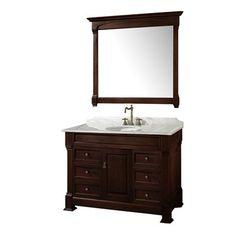 "Wyndham Collection WC-TS48 Andover 48"" Bathroom Vanity Set - Fixture Universe"