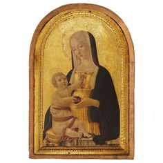 Madonna and Child by Benvenuto di Giovanni Cloister Collection Catholic Icon Plaque The Cloisters, Ancient Beauty, Madonna And Child, Catholic Art, Italian Artist, Metropolitan Museum, Digital Prints, Medieval, The Incredibles