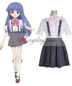 When They Cry Rika Furude Cosplay Costume