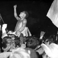Eusebio after winning the Europa Cup I in 1962 (Amsterdam)