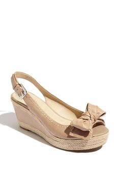 I purchased these yesterday. I love the colour.....great shoe for spring/summer. Franco Sarto from www.nordstrom.com