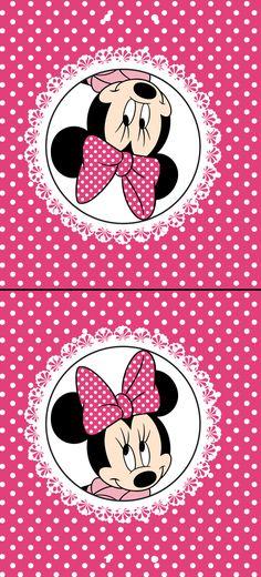 Clique na imagem para ampliar e só depois mande salvar.   Gostou? quer uma encomenda personalizada?   contatodesigningdreams@gmail.com  ... Mickey E Minnie Mouse, Minnie Png, Pink Minnie, Baby Mickey, Scrapbook Da Disney, Disney Clipart, Baby Samples, Barbie Party, Minnie Birthday