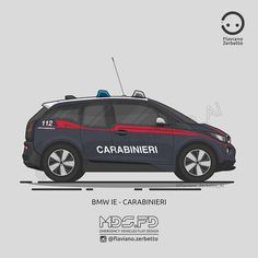 KombiT1: BMW Ie - Carabinieri Police Cars, Police Vehicles, Bmw I3, State Police, Military Weapons, Emergency Vehicles, Swat, Hot Wheels, Trucks