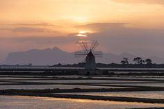 Salt fields of Trapani