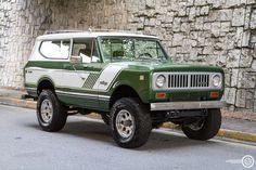 1973 IH Scout II Green