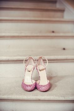 Christian Louboutin pink sparkly HOT