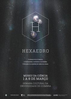 Hexaedro - promotional poster series