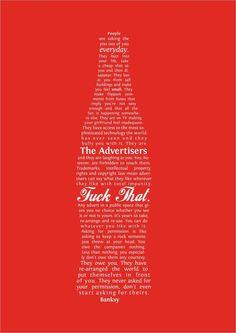 #Banksy #preach
