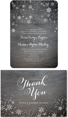 frosty winter snowflake wedding invitation wedding wedding things