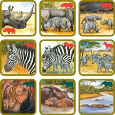 7 Rumble In The Jungle, Nature Study, Bible Crafts, Zoology, Exotic Pets, Kids House, Kids Gifts, Games For Kids, Card Games