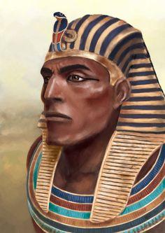 Facial reconstruction of Pharaoh of the New Kingdom 19th Dynasty of Egypt, Menmaatre Seti I