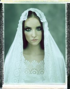 model: Monika designer: Małgorzata Wilk-Dryło mua: Roxana Te polaroid
