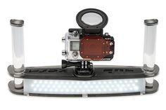 sub zero light GoPro HERO4 Unterwasser Komplettset LCD Flip3.1