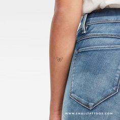 Minimalist Butterfly Temporary Tattoo (Set of butterfly tattoo Minimalist Butterfly Temporary Tattoo (Set of Oma Tattoos, Rebellen Tattoo, Elbow Tattoos, Dainty Tattoos, Shape Tattoo, Tattoo Set, Pretty Tattoos, Mini Tattoos, Piercing Tattoo