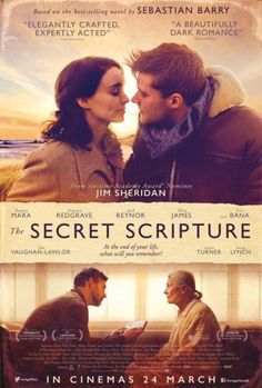 Vanessa Redgrave, Eric Bana, Rooney Mara, and Jack Reynor in The Secret Scripture Vanessa Redgrave, Drama Movies, Hd Movies, Movies To Watch, Movies Online, See Movie, Movie List, Movie Tv, Quotes Thoughts