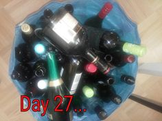 Bottles. And bottles.. and bottles. 27 of them. Can you imagine? Me neither #MinsGame Day 27