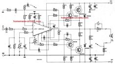 In this post we will talk about 5 outstanding, easy to build, low distortion Hi-Fi 40 watt amplifier circuits that can be further upgraded to higher wattage through some minor […] V Words, Electrolytic Capacitor, Stereo Amplifier, Electronic Engineering, Circuit Projects, Circuit Diagram, Loudspeaker, Electronics Projects