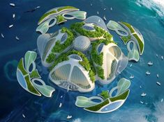 It's no secret that the future is formidable when it comes to contending with overpopulation, loss of habitats, and environmental devastation. Add to that the rising sea levels, and it all looks pretty grim. But it's also human nature to persevere, and that's what architect and designer Vincent Callebaut is planning to do. The Belgian... View Article