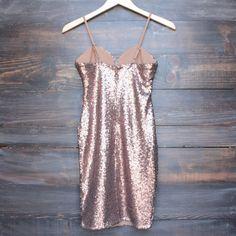 bronzed sequin beauty body con dress