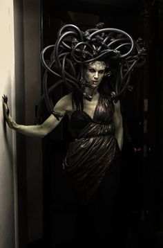 """Medusa""  An October Evening Model: Chaunsey Hildebrandt Makeup and Design: Chris Hanson Costume: Pretty Macabre Photo: Todd Ellis"