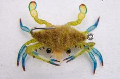 Realistic crab fly. #FlyFishing
