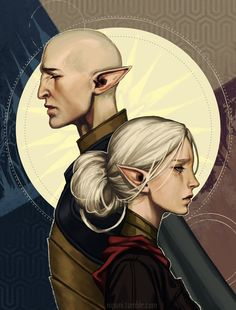 #Solas #DragonAge #Lavellan