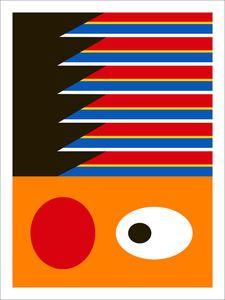 Minimalist Ernie print