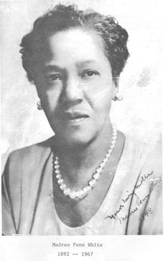 Madree Penn White, one of the 22 Founders of Delta Sigma Theta Sorority, Inc.