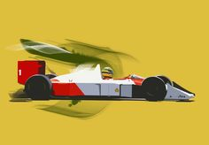 Seriously Cool Mercedes F1 Illustration