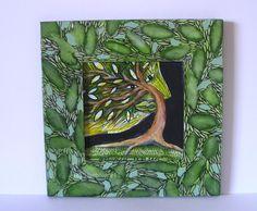 JEDER BAUM HAT EIN GESICHT von Herbivore11 Unikat von HERBIVORE11 Tiere und Kunst auf DaWanda.com