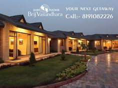 Enjoy unforgettable experiences at #ShriRadhaBrijVasundhara. Choose from a variety of #Luxury packages to book your next getaway! ‪#‎Travel‬ ‪#‎Cottages #SPA‬ #Hotels