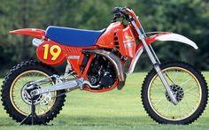 1982 HONDA RC250 HRC Yasuo Tofukuji