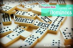 Look at all the learning you can do with dominoes!