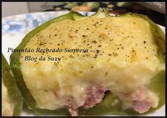 Blog da Suzy : Pimentão Recheado Diferente