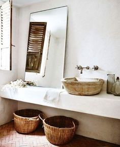 natural bathroom
