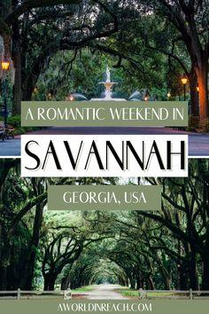Travel Info, Usa Travel, Travel Guides, Travel Tips, Romantic Escapes, Romantic Getaway, Romantic Travel, Savannah Georgia, Savannah Chat
