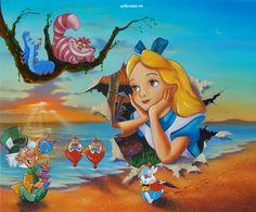 Alice's Grand Entrance